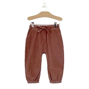 City Mouse Cord Slouchy Pants - Rosewood *CLEARANCE*