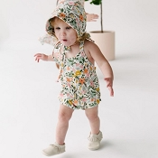 Little & Lively Romper - Picnic Floral