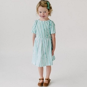 Little & Lively Daphne Dress - Cabana