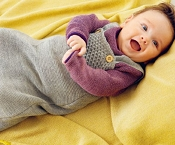 Disana Knitted Woollen Sleeping Bag