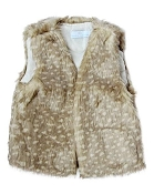 Bailey's Blossoms Darling Doe Fur Vest