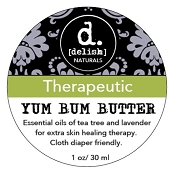*Delish Naturals Yum Bum Butter Mini (1 Ounce Tin)