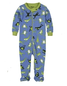 Hatley Hopping Frogs Footed Coverall  *CLEARANCE*