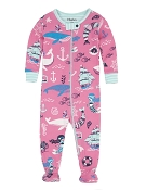 Hatley Sweet Mermaid Footed Coverall *CLEARANCE*