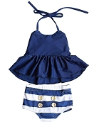 Bailey's Blossoms Nautical Swim Suit Set *CLEARANCE*