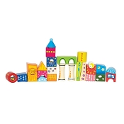 *Hape Fantasia Blocks Castle - 26 Piece