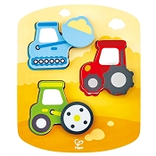 *Hape Dynamic Vehicle Puzzle