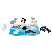 *Hape Polar Animal Tactile Puzzle