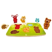 *Hape Forest Animal Tactile Puzzle