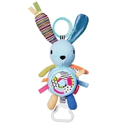 *Skip Hop Vibrant Village Pull & Spin Activity Bunny