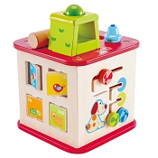 *Hape Friendship Activity Cube