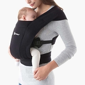 *Ergobaby Embrace Cozy Newborn Carrier - Pure Black