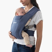 *Ergobaby Embrace Cozy Newborn Carrier - Soft Navy