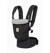 *Ergobaby ADAPT Baby Carrier - Geo Black