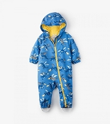 Hatley Microfiber Bundler - Fire Breathing Dragons (Size 9-12 Months)