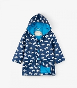 Hatley Colour Changing Monster Trucks Classic Boys Raincoat (Size 2)