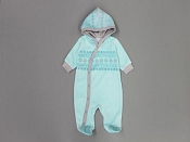Itty Bitty Baby Fair Isle Cuddler -  Turquoise