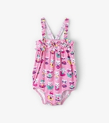 Hatley Felines in Fun Floats Mini Ruffle Swimsuit *CLEARANCE*