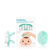 *FridaBaby Head-Hugging Hairbrush + Styling Comb Set
