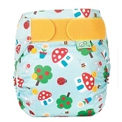 Frugi by TotsBots Easy Fits - Mushroom Town