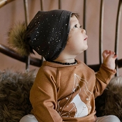Little & Lively Pom Pom Beanie - Galaxy