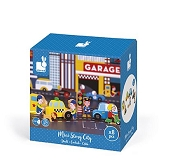 *Janod Mini Story Box - Garage City