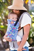 * Tula Ergonomic Baby Carrier - Garden Party - Toddler Size