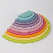 *Grimm's Element - Large Pastel Semicircles