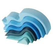 *Grimm's Water Waves - Medium (6 pcs)