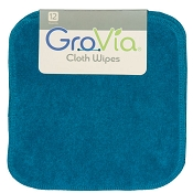 Grovia Cloth Wipes - 12 Pack