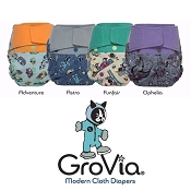GroVia Clearance Bin - 20% Off Regular Prices