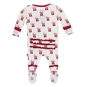 KicKee Pants Short Sleeve Pajama Set - Natural Gumball Machine