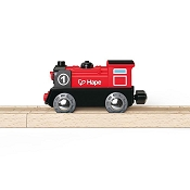 *Hape Battery Powered Engine No.1