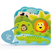 *Hape Baby's Wild Animals Book