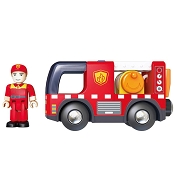 *Hape Fire Truck with Siren