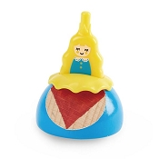 *Hape Princess Spinning Top