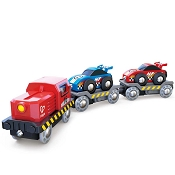 *Hape Race Car Transporter