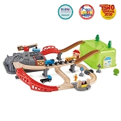 *Hape Railway Bucket Builder Set