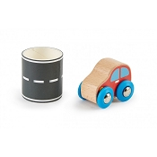 *Hape Tape & Roll Car
