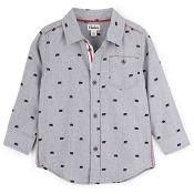 Hatley Tiny Bears Button-Down Shirt (Size 5)