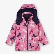 Hatley 4-in-1 Winter Jacket - Playful Horses