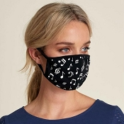 Hatley Adult Face Mask - Music Notes
