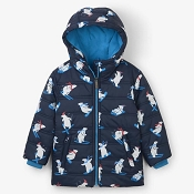 Hatley Kids Puffer Coat - Winter Sports Bears