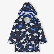 Hatley Colour Changing Dino Herd Boys Raincoat