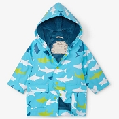 Hatley Baby Raincoat - Great White Sharks