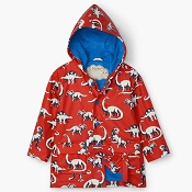 Hatley Baby Colour Changing Raincoat - Painted Dinos