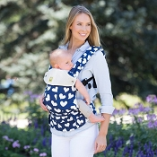 * LILLEbaby COMPLETE All Seasons Baby Carrier - Hearts All Over