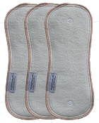 Buttons Hemp/Cotton Daytime Inserts - 3 Pack