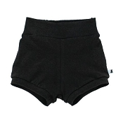 Little & Lively High-Waisted Shorties - Black