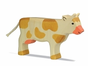 *Holztiger Standing Brown Cow